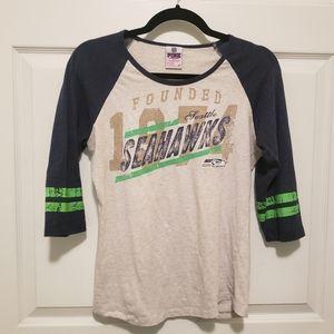 VS PINK Seattle Seahawks Shirt - M
